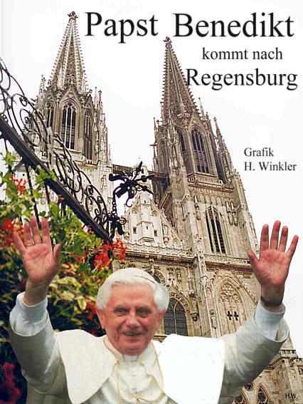 Papst Benedikt In Regensburg